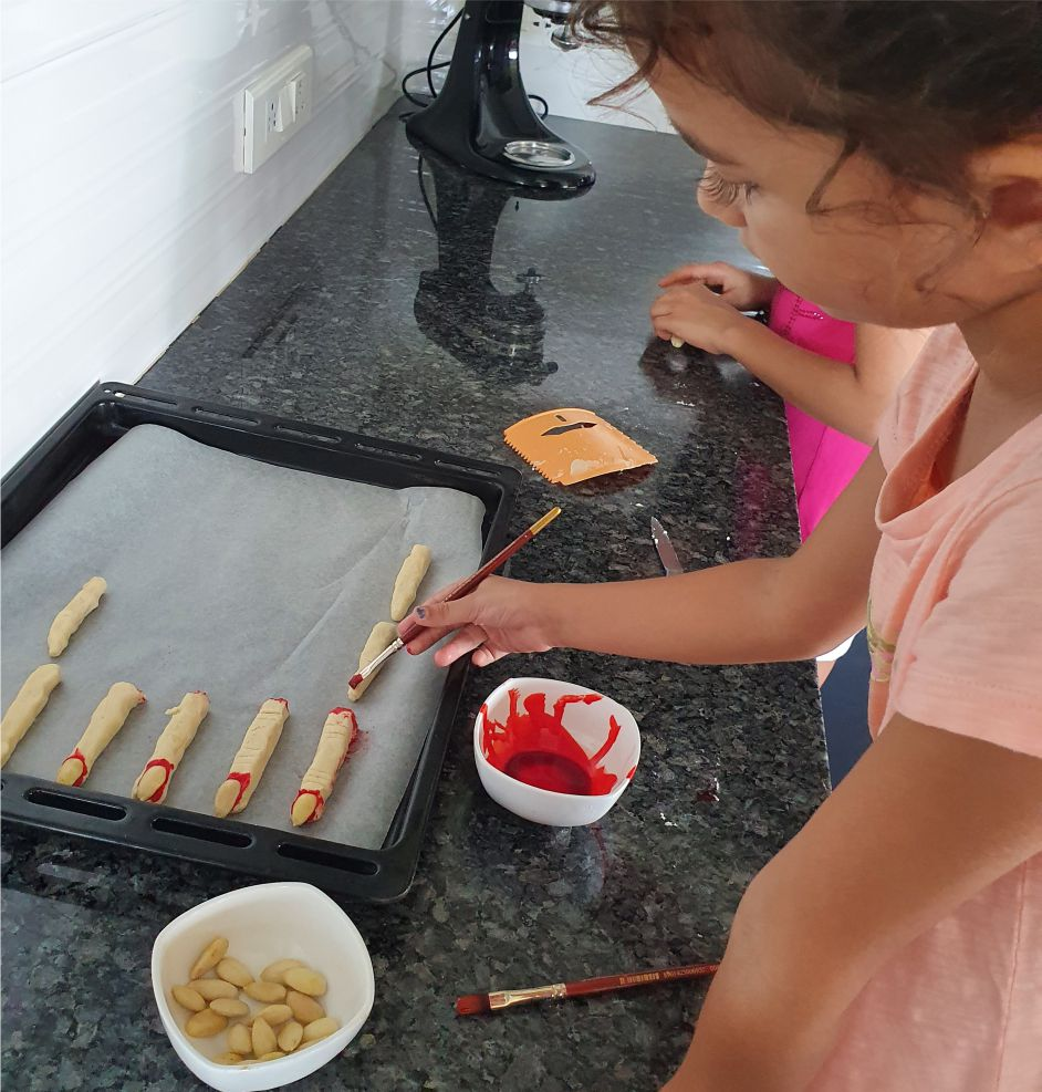 Severed Finger Biscuits -Perfect for Halloween