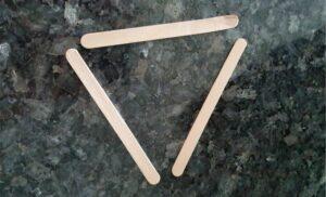 ice cream stick tealight holder MomMadeMoments