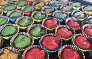 Harry Potter House Cupcakes Red Velvet Cupcakes recipe