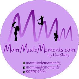 MomMadeMoments Logo